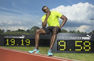 Usain Bolt celebrates the fifth anniversary of his world records. Forever Faster.