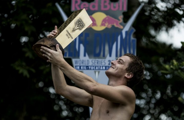 Red Bull Cliff Diving World Series 2014 Yucatan, gary hunt, jonathan paredes, orlando duque, ik kil, sillon tecnico, deportes, clavados