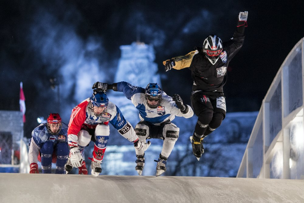 Red Bull Crashed Ice 2015 sillon tecnico deportes extremo