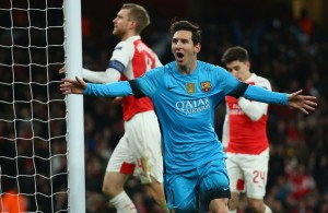 messi, sillontecnico, remate tv, gol, arsenal, champions league, sillon tecnico