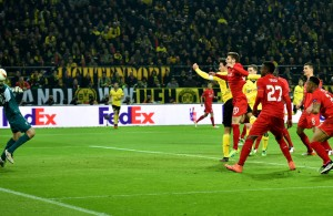 """Borussia Dortmund v Liverpool - UEFA Europa League Quarter Final: First Leg"""