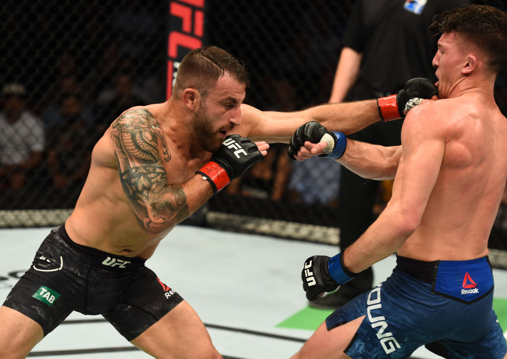 UFC Fight Night: Volkanovski v Young